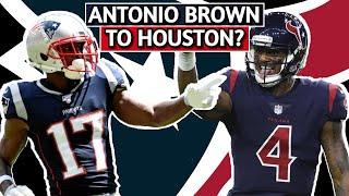 Houston Texans And Deshaun Watson WANT Antonio Brown | Film Breakdown | Potential Free Agent Signing