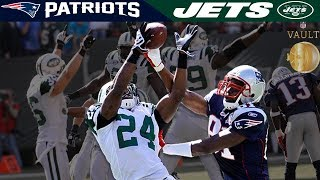 Revis Shuts Down Moss (Patriots vs. Jets, 2009) | NFL Vault Highlights