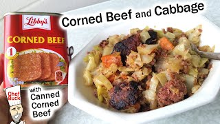 Best Corned Beef and Cabbage Recipe with Canned Corned Beef