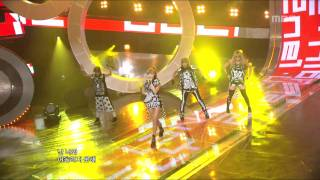 2NE1 - UGLY, 투애니원 - 어글리, Music Core 20110806