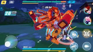 Honkai Impact 3(崩壊3rd) - Urgent Mission 28 - Quick Handed Fire Spirit Titan