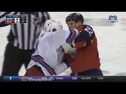 Shawn Thornton vs. Tanner Glass