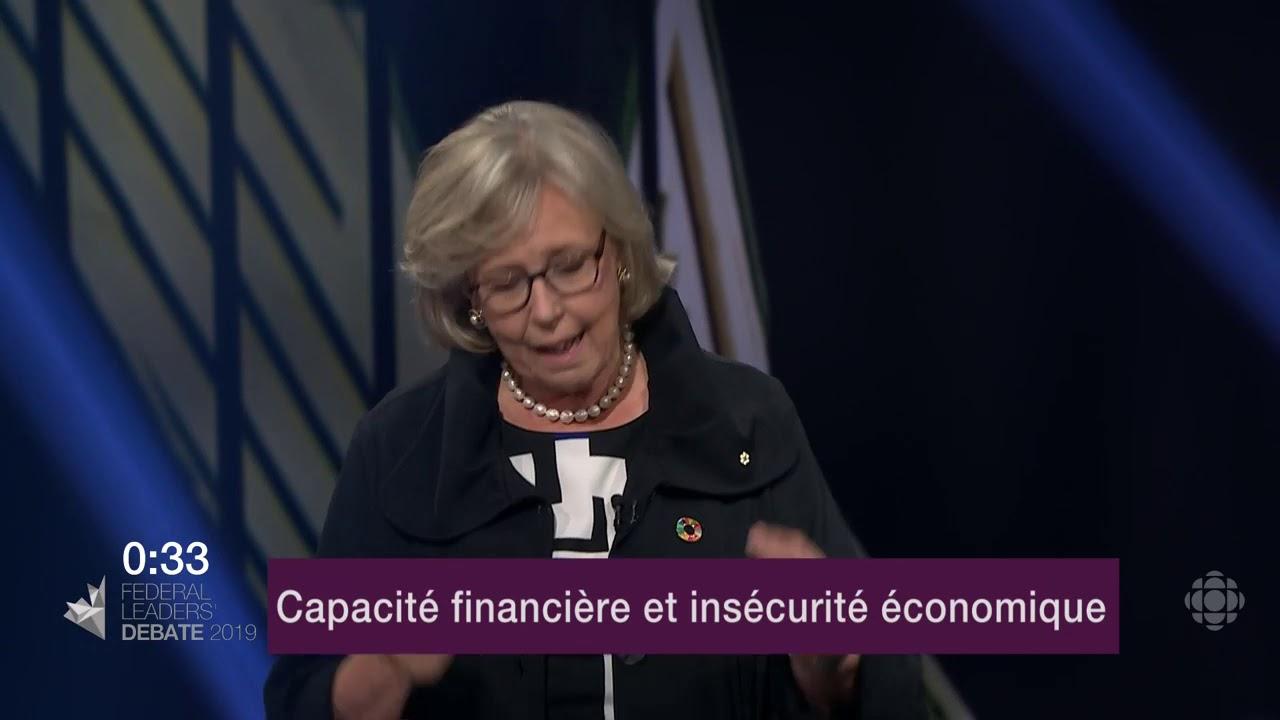 Yves-François Blanchet et Elizabeth May débattent sur la péréquation
