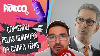 Rodrigo Constantino: 'Zema preenche os requisitos do centro efetivo, mas não faz o apelo anti-PT'