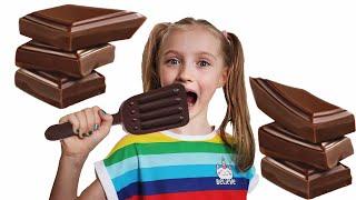 Desafío de chocolate y otros videos divertidos para niños.