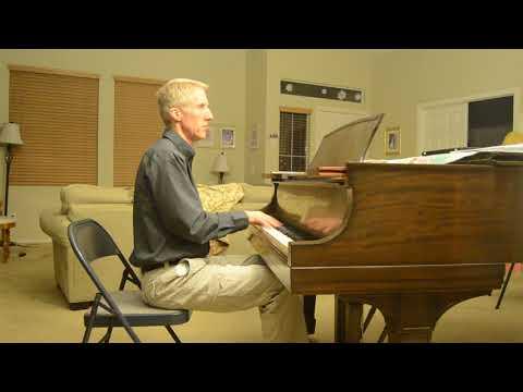 "A standard  jazz piano arrangement of ""O Christmas Tree"""