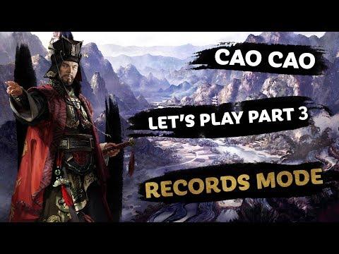 Cao Cao Let's Play PART 3 - Total War: THREE KINGDOMS