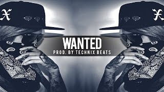 BRUTAL RAP BEAT - 808 Bass Trap Rap Beat Instrumental | Wanted (Prod Technix Beats)