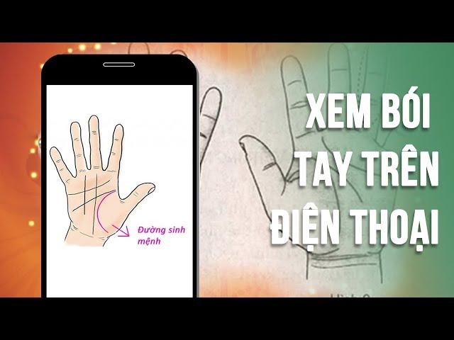 Cách xem bói chỉ tay cực chuẩn trên iPhone của bạn