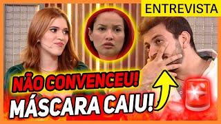 💥Caio é ENCURRALADO em ENTREVISTA com Ana Clara e ADMITE que foi FALSO com Juliette: NÃO GANHA O BBB