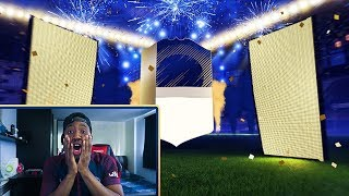 ICON IN A PACK! - GREATEST FIFA 18 PACK OPENING EVER!
