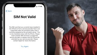 FREE! Unlock for All Models iPhone Sim Not Valid ✅ Unlock iPhone from Carrier 100% Working 2020