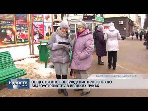 12.02.2019 / Общественное обсуждение проекто по благоустройству в Великих Луках