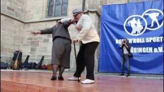 Oma + Opa Boogie Show beim Stadtfest Tübingen 2013