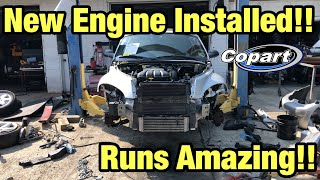 Rebuilding a Totaled wrecked Pt Cruiser Part 4 from copart Salvage Auction