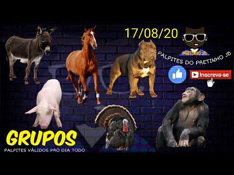 PALPITES DO PRETINHO JB 17/08/2020