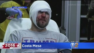 Authorities Hope To Avoid Repeat Of Costa Mesa Chaos As Trump Returns To Orange County