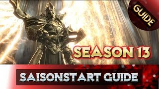 diablo 3 season 13 guide