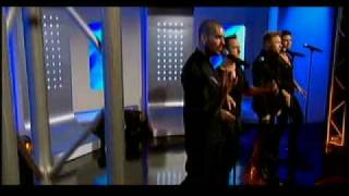 Boyzone performing 'Love Is A Hurricane' on This Morning - 9th March 2010