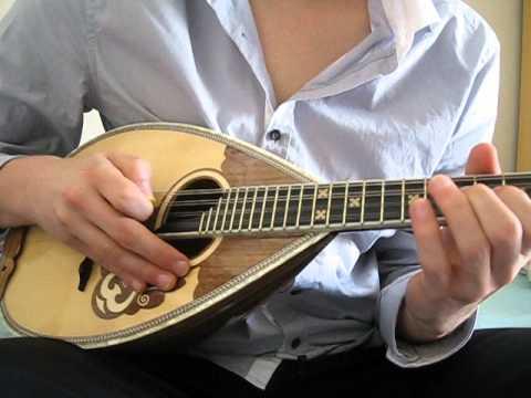 Mandoline solo - musique andalouse (Lili Boniche)