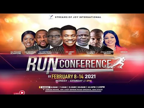 Sunday Service 14th February 2021 Run Conference  Day 7 with Pastor Jerry Eze