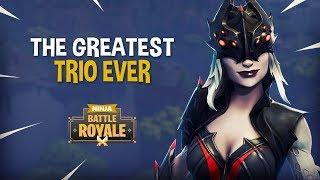 The Greatest Trio Ever!! - Fortnite Battle Royale Gameplay - Ninja