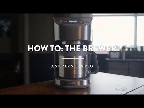How to: the brewer