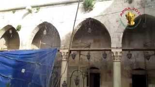 preview picture of video 'Aleppo-Bab Qensrin: The satde of the Bimaristan Argun حلب : تقرير عن  البيمارستان الاراغوني'