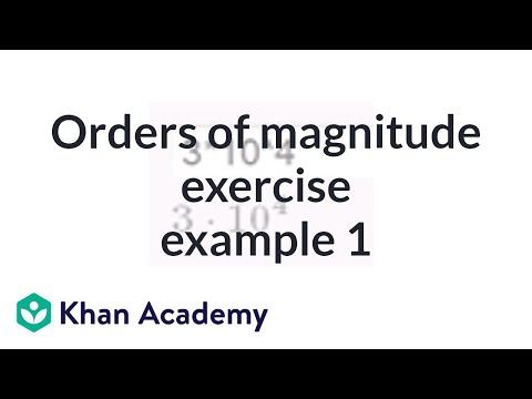 Orders of magnitude exercise example 1 (video) | Khan Academy