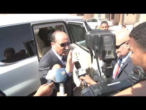 الرئيس الموريتاني محمد ولد عبد العزيز لم أقدم مرشحا للرئاسيات وإنما قدم نفسه