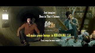 Khaidi No 150  Goose Bump Scenes  Every Mega Fan Must Watch  Edit By MMK