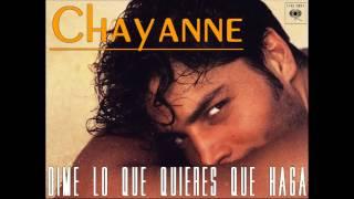 Chayanne - Dime lo que quieres que haga