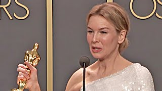Oscars 2020 Renée Zellweger - Winner Speech