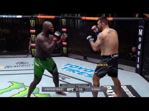UFC Fight Night 169: Rozenstruik vs. Sakai – highlights