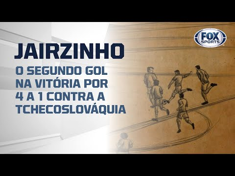 #FoxSports50AnosDoTri - O segundo gol de Jairzinho na vitória por 4 a 1 contra a Tchecoslováquia