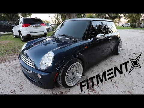 Stanced Low & Wide R50 Mini Cooper