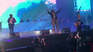 """Migos """"Slippery"""" With Gucci Mane Live @ Rolling Loud 2017"""