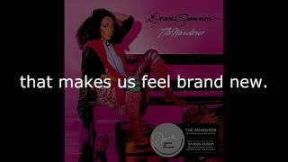 "Donna Summer - Grand Illusion LYRICS SHM ""The Wanderer"" 1980"