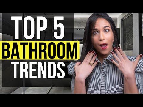 Top 5 Bathroom INTERIOR DESIGN Trends and Ideas, Tips for Home Decor