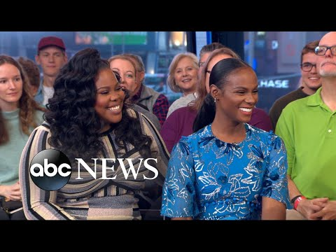 , title : 'Tika Sumpter and Amber Riley open up about 'Nobody's Fool''