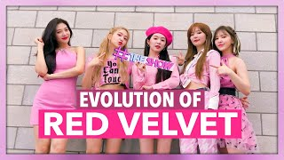 THE EVOLUTION OF RED VELVET (레드벨벳) | 2014   2019