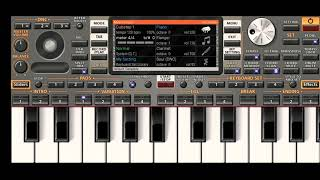 Tu Pyar Hai Kisi Aur Ka : PIANO TONE MOBILE APPS ORG 2020  INSTRUMENT MUSIC  HD VIDEO  GOKUL MURMU