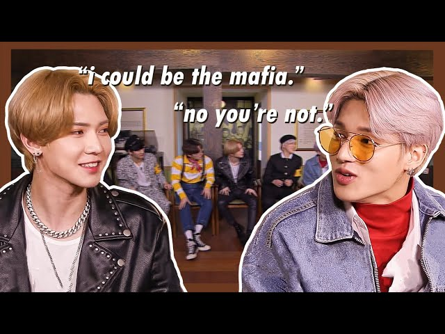 ateez finally know how to play mafia