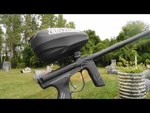 New Dye DSR Paintball Marker – shooting video and review