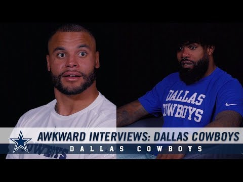 Awkward Interviews: Dallas Cowboys | Dallas Cowboys 2019
