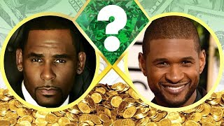 WHO'S RICHER? - R. Kelly or Usher? - Net Worth Revealed! (2017)