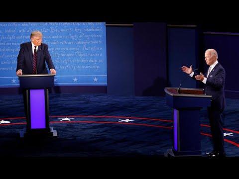 في زمن الكورونا.. أول مناظرة بين ترامب وبايدن بلا مصافحة