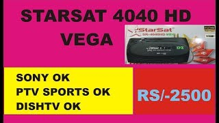 Starsat 2000 HD Hyper receiver price in Pakistan and Unbox full