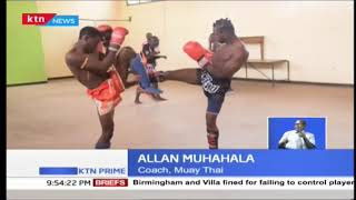 Kayole youth engage in Muay Thai kick boxing