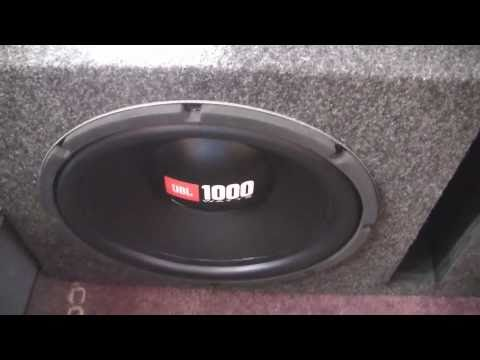 Two JBL 12 inch GT4s subwoofers